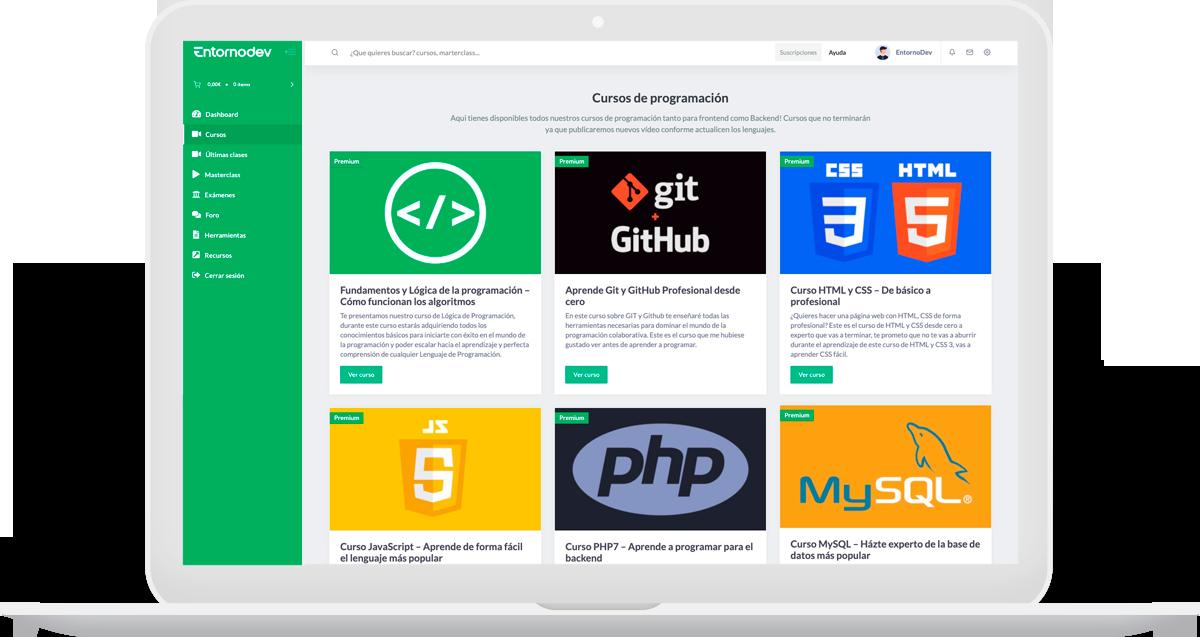 plataforma desarrollo web